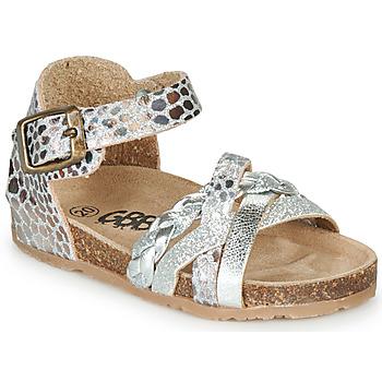 Schuhe Mädchen Sandalen / Sandaletten GBB ALECTA Silbern