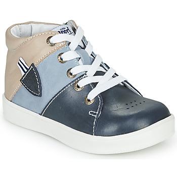 Schuhe Jungen Sneaker High GBB AMOS Blau / Grau