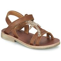 Schuhe Mädchen Sandalen / Sandaletten GBB SAPELA Braun