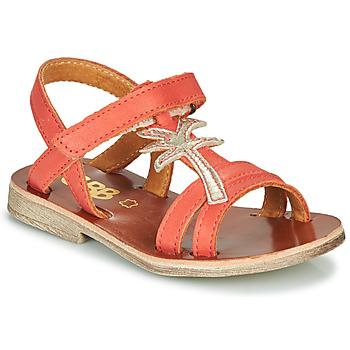 Schuhe Mädchen Sandalen / Sandaletten GBB SAPELA Korallenrot
