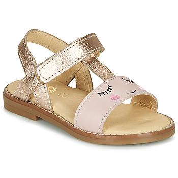 Schuhe Mädchen Sandalen / Sandaletten GBB NAZETTE Rose
