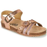 Schuhe Mädchen Sandalen / Sandaletten GBB PANORA Rose / Gold
