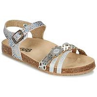 Schuhe Mädchen Sandalen / Sandaletten GBB PANORA Silbern