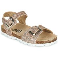 Schuhe Mädchen Sandalen / Sandaletten GBB PIPPA Rose / Gold