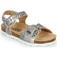 Schuhe Mädchen Sandalen / Sandaletten GBB PIPPA Silbern