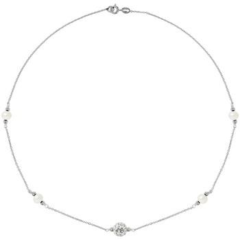 Uhren & Schmuck Damen Collier Blue Pearls BPS K050 W Multicolor