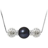 Uhren Damen Collier Blue Pearls BPS K057 W Multicolor