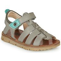 Schuhe Jungen Sandalen / Sandaletten GBB PATHE Grau