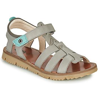 Schuhe Jungen Sandalen / Sandaletten GBB PATHE Grau / Blau