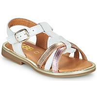 Schuhe Mädchen Sandalen / Sandaletten GBB EGEA Weiss