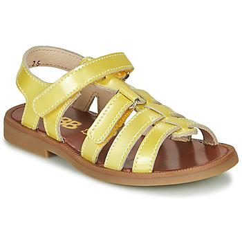 Schuhe Mädchen Sandalen / Sandaletten GBB KATAGAMI Gelb