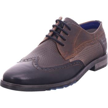 Schuhe Herren Derby-Schuhe & Richelieu Bugatti - 312539023232 blau