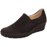 Schuhe Damen Slip on Ara Slipper H-Slipper mit Perlen 12-47694-01 schwarz