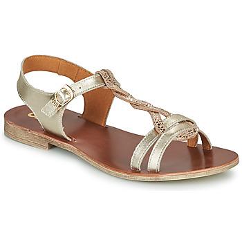 Schuhe Mädchen Sandalen / Sandaletten GBB EUGENA Gold