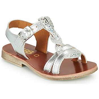 Schuhe Mädchen Sandalen / Sandaletten GBB EUGENA Silbern