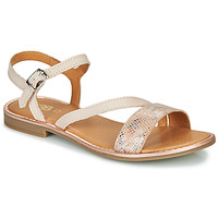 Schuhe Mädchen Sandalen / Sandaletten GBB FANA Beige / Rose