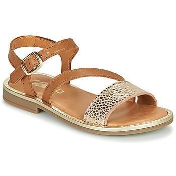 Schuhe Mädchen Sandalen / Sandaletten GBB FANA Cognac