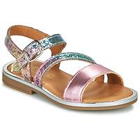Schuhe Mädchen Sandalen / Sandaletten GBB FANA Rose / Multicolor