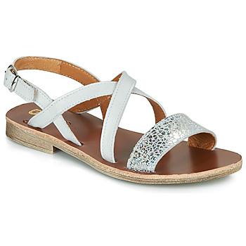 Schuhe Mädchen Sandalen / Sandaletten GBB FAVOLA Weiss