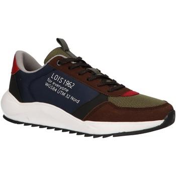 Schuhe Herren Sneaker Low Lois 84884 Azul
