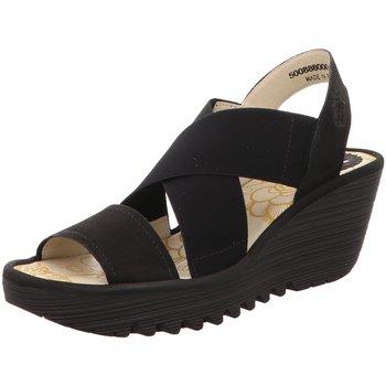 Schuhe Damen Sandalen / Sandaletten Fly London Sandaletten YAJI888FL4P500888-000 schwarz