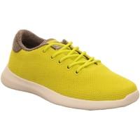 Schuhe Damen Sneaker Low Giesswein Schnuerschuhe Merino Wool Knit Women 49309/194 gelb