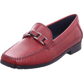 Schuhe Damen Slipper Sioux Cambria rot