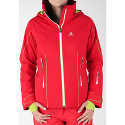 Kleidung Damen Windjacken Salomon Skijacke  Whitecliff GTX 374720 rot