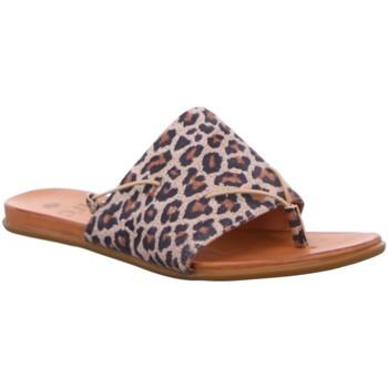 Schuhe Damen Pantoffel Dna Pantoletten -Sandalette C39-3566-18.21 animal