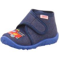 Schuhe Jungen Babyschuhe Superfit Klettschuhe Spotty,BLAU 5-09253-80 blau