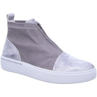 Schuhe Damen Sneaker High Think Slipper Gring 84098-13 grau