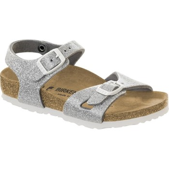 Schuhe Kinder Sandalen / Sandaletten Birkenstock 831783 Argento