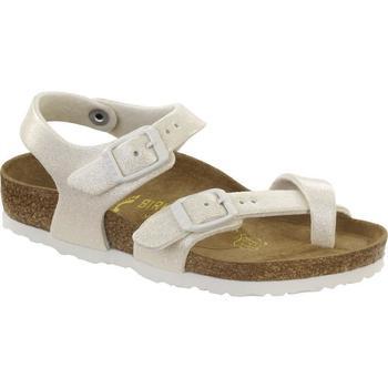 Schuhe Mädchen Sandalen / Sandaletten Birkenstock 371593 Bianco