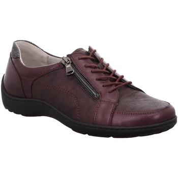 Schuhe Damen Sneaker Low Waldläufer Schnuerschuhe Henni/H,brunello 1032704 496042 rot