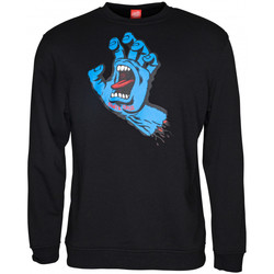 Kleidung Herren Sweatshirts Santa Cruz Screaming hand Schwarz