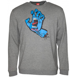 Kleidung Herren Sweatshirts Santa Cruz Screaming hand Grau