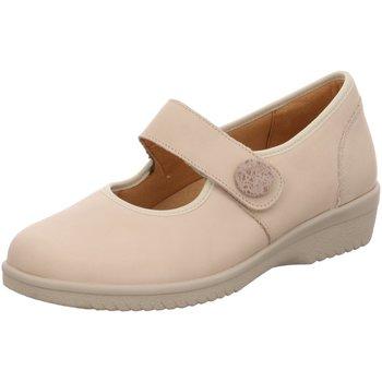 Schuhe Damen Ballerinas Ganter Slipper 3204701-1200 beige