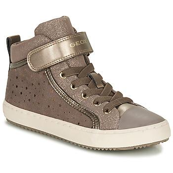 Schuhe Mädchen Sneaker Low Geox KALISPERE Beige