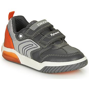 Schuhe Jungen Sneaker Low Geox INEK BOY Grau
