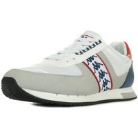 Schuhe Herren Sneaker Low Kappa Curtis White Blue Intense Weiss