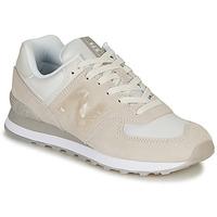Schuhe Damen Sneaker Low New Balance WL574WNT Beige