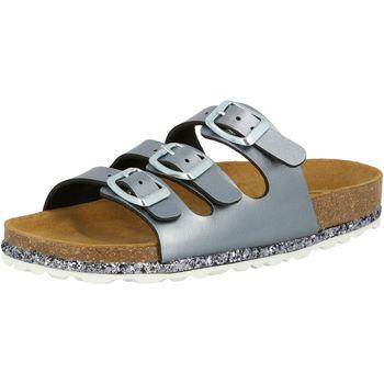 Schuhe Mädchen Pantoffel Lico Bioline Sensation grau