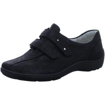 Schuhe Damen Slipper Waldläufer Slipper 496301-101/001 schwarz