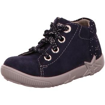 Schuhe Mädchen Low Boots Superfit Maedchen Lauflernstiefel Kaltfutter Starlight 0-509440-8000 blau