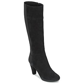 Schuhe Damen Klassische Stiefel Geox INSPIRAT ST C Schwarz