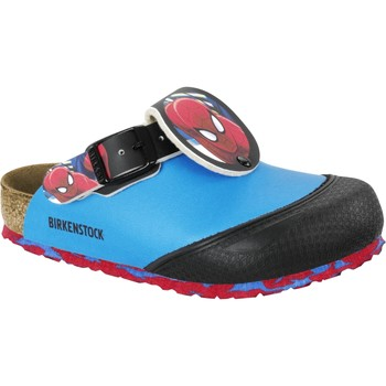 Schuhe Kinder Pantoletten / Clogs Birkenstock & Co.kg Birkenstock Clog Shetland marvel spiderman blue 1006830 Other