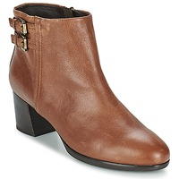 Schuhe Damen Low Boots Geox ERIKAH B Braun