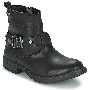 Schuhe Mädchen Klassische Stiefel Geox SOFIA B Schwarz