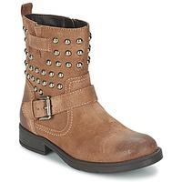 Schuhe Mädchen Klassische Stiefel Geox SOFIA C Braun