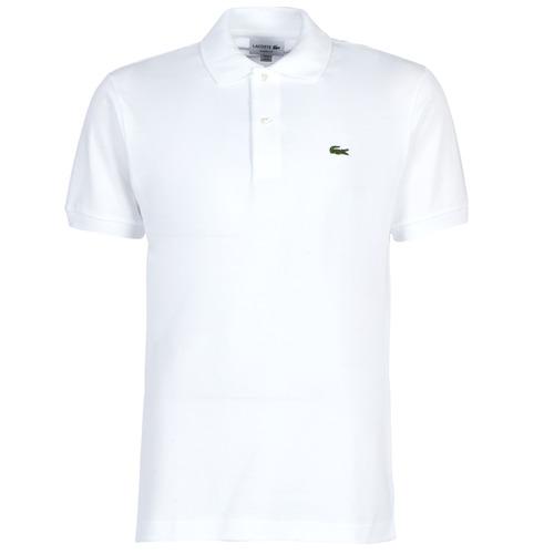 Kleidung Herren Polohemden Lacoste POLO L12 12 REGULAR Weiss